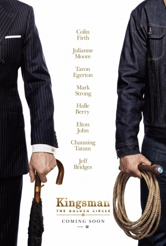 Tráiler para Kingsman: The Golden Circle